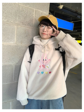 "Load image into Gallery viewer, ""ANGEL BUNNY"" HOODIE"