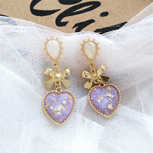 "Load image into Gallery viewer, ""DOLLY LOVE"" EARRINGS (2 COLORS)"
