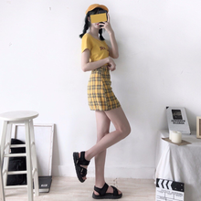 "Load image into Gallery viewer, ""BUMBLEBEE"" SKIRT"