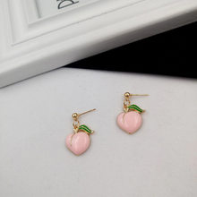 "Load image into Gallery viewer, ""DARLING PEACH"" EARRINGS (2 DESIGNS)"