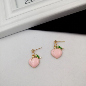 """DARLING PEACH"" EARRINGS (2 DESIGNS)"
