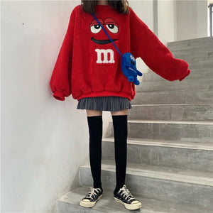 """M&M FEVER"" SWEATER (2 COLORS)"