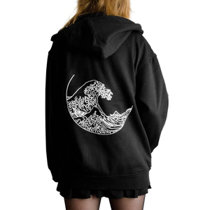 """THE GREAT WAVE"" HOODIE (2 COLORS)"