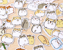 "Load image into Gallery viewer, ""CHUBBY HAMSTERS"" STICKERS"