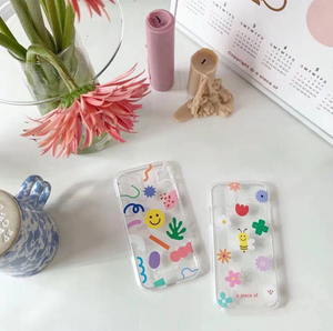 """HAPPY THINGS"" IPHONE CASE (2 DESIGNS)"