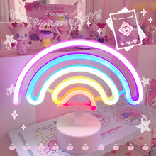 "Load image into Gallery viewer, ""RAINBOW DREAMS"" NIGHT LIGHT"