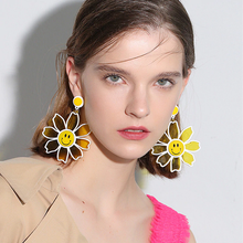 "Load image into Gallery viewer, ""FLOWERS OF JOY"" EARRINGS (4 COLORS)"