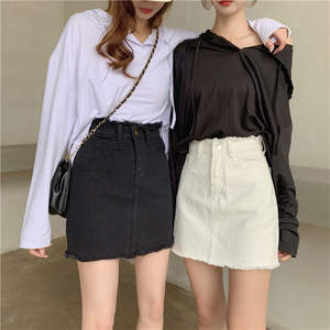 """MONOCHROME SISTERS"" SKIRT (2 COLORS)"