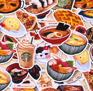 """MEALTIME"" STICKERS"