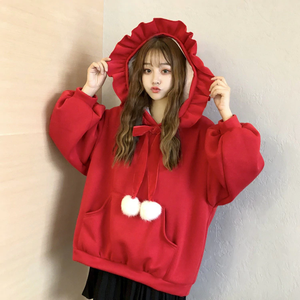 """LITTLE WITCH"" WINTER HOODIE (2 COLORS)"