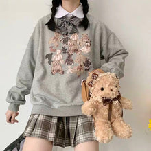 "Load image into Gallery viewer, ""COTTAGE BEAR FAMILY"" SWEATER"