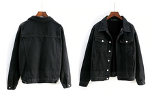 "Load image into Gallery viewer, ""CLASSIC"" BLACK JACKET"