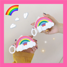 Load image into Gallery viewer, RAINBOW CLOUD AIRPODS CASE