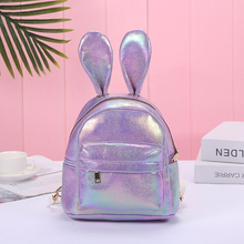 "Load image into Gallery viewer, ""GLITTER BUNNY"" BACKPACK (4 COLORS)"