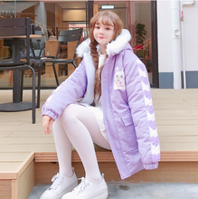 "Load image into Gallery viewer, ""BUNNY CAFE"" COAT (2 COLORS)"