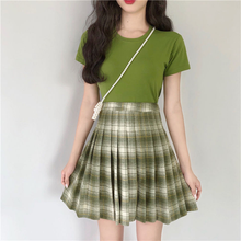 "Load image into Gallery viewer, ""EMERALD DATE"" SKIRT"