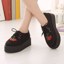Load image into Gallery viewer, CHERRY PLATFORM SHOES