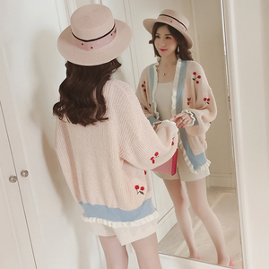 """CHERRY DOLL"" CARDIGAN (3 COLORS)"