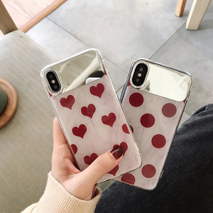 """HEARTS 'N DOTS"" IPHONE CASE (2 DESIGNS)"