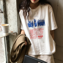 "Load image into Gallery viewer, ""JOY DIVISION"" TEE (2 COLORS)"