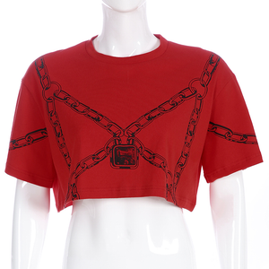 """CHAINED UP"" CROP TOP"