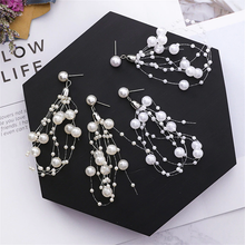 "Load image into Gallery viewer, ""DELICATE DEW"" EARRING (2 COLORS)"