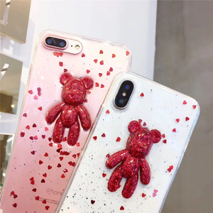 """PARTY BEAR"" IPHONE CASE"