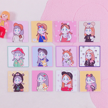 "Load image into Gallery viewer, ""TREND GAL"" STICKER SET"