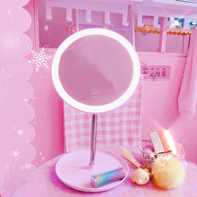 "Load image into Gallery viewer, ""ANGEL GIRL"" LIGHT UP MIRROR"