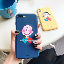 "Load image into Gallery viewer, ""CHARLIE BROWN x LUCY VALENTINES"" IPHONE CASES (2 DESIGNS)"