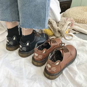 """COZY KITTIES"" SHOES (2 COLORS)"