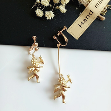 "Load image into Gallery viewer, ""ANGEL BABY"" EARRINGS (2 COLORS)"