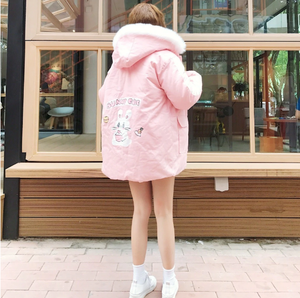 """BUNNY CAFE"" COAT (2 COLORS)"