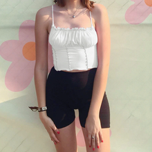 "Load image into Gallery viewer, ""RUFFLE SUMMER"" CROP TOP (3 COLORS)"