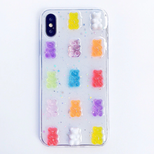 Load image into Gallery viewer, PASTEL GUMMY BEAR IPHONE CASE