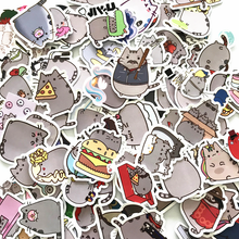 "Load image into Gallery viewer, ""PUSHEEN COSPLAY"" STICKERS"
