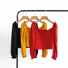 "Load image into Gallery viewer, ""LELANI"" BLOUSE (3 COLORS)"