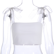 "Load image into Gallery viewer, ""DAISY FAIRY"" CROP TOP"
