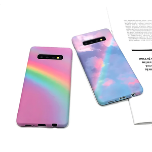 """PASTEL RAINBOW DAYS"" SAMSUNG GALAXY CASES"