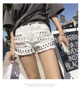 """STUDDED LOVE"" SHORTS (2 COLORS)"