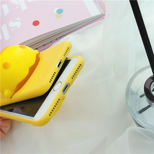 "Load image into Gallery viewer, ""SQUISHY DUCK"" IPHONE CASE"