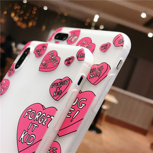 """CHARLIE BROWN LOVE"" IPHONE CASE"