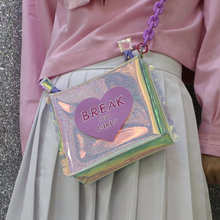 "Load image into Gallery viewer, ""BREAK OUT GIRLS"" BAG (2 COLORS)"