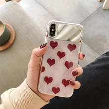 "Load image into Gallery viewer, ""HEARTS 'N DOTS"" IPHONE CASE (2 DESIGNS)"
