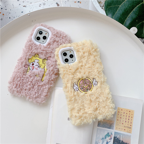 FUZZY SAILOR MOON IPHONE CASE (2 DESIGNS)