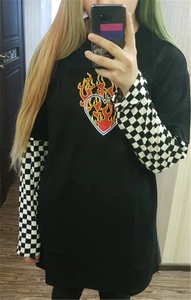 """SKATER LOVE"" SWEATER"