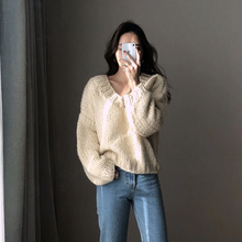 "Load image into Gallery viewer, ""CECELIA"" SWEATER (2 COLORS)"