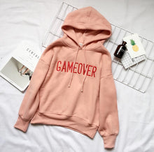 "Load image into Gallery viewer, ""GAME OVER"" HOODIE"
