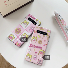 Load image into Gallery viewer, SAILOR MOON COLLAGE SAMSUNG PHONE CASE (2 DESIGNS)