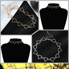 "Load image into Gallery viewer, ""LOVE ALL AROUND"" CHOKER (2 COLORS)"